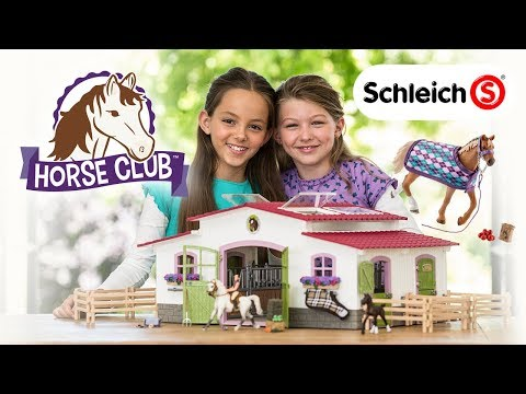 Be An Equestrian With Schleich's Horse Club Line! | A Toy Insider Play By Play