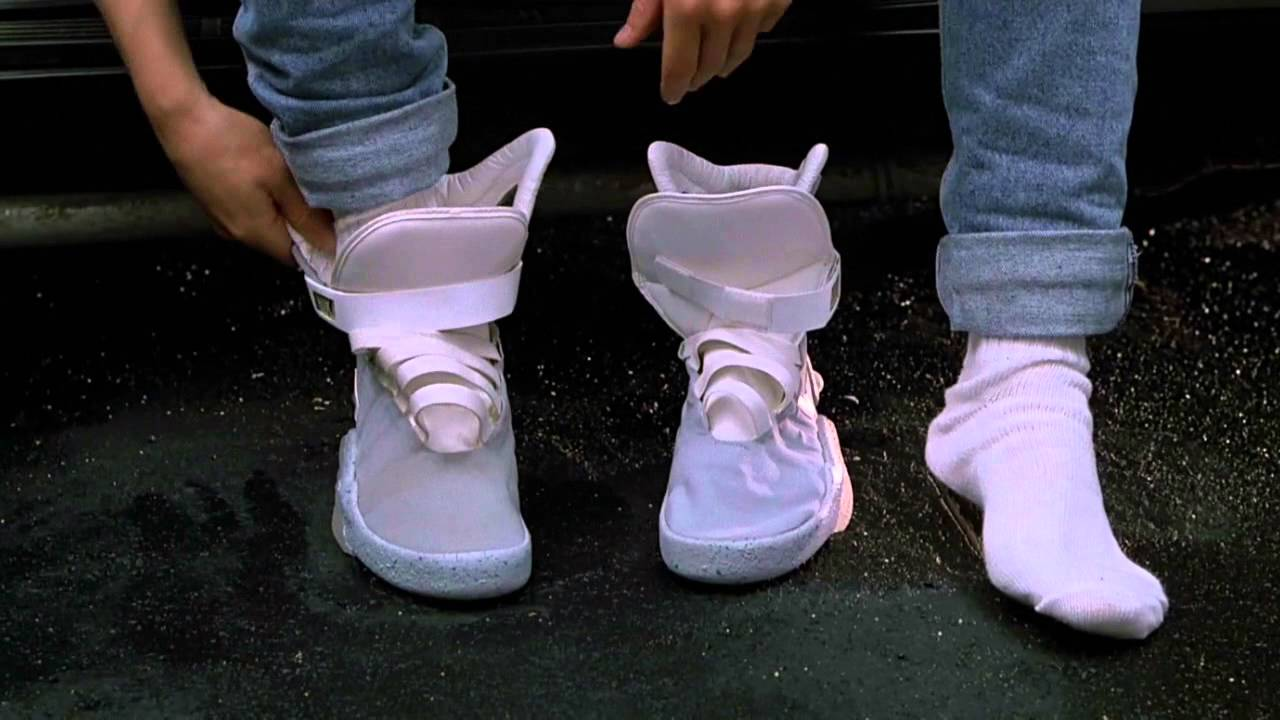 the best attitude 312c5 14c96 Nike Air Mag Retour Vers le Futur 2