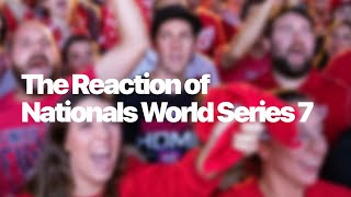 Fan Reactions to the 2019 Washington Nationals World Series Win | #Nationals #JuanSoto #WorldSeries