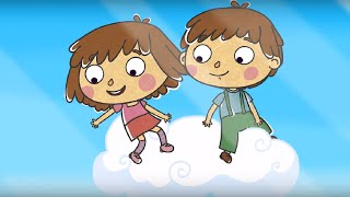Добрые мультфильмы для детей - Малыши и Летающие звери - Вода - Развивающие мультики