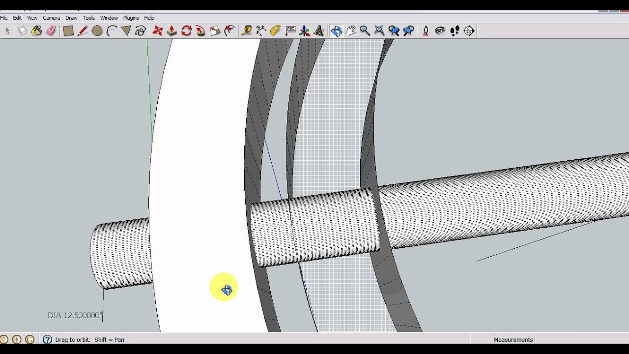 Sketchup Intersect Faces Not Working