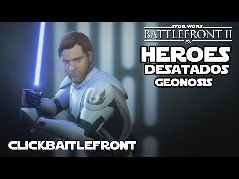 Evento Héroes desatados en Geonosis - Star wars Battlefront 2 - Jeshua Reva thumbnail