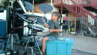 4 YEAR OLD POLY DRUMMER- SAMOAN SONG