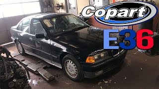 Copart E36 Drift Build