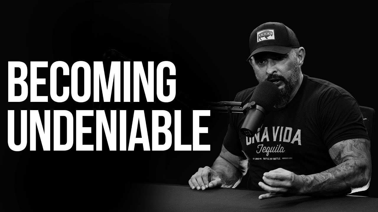 Becoming Undeniable | RealAF with Andy Frisella | Episode 123
