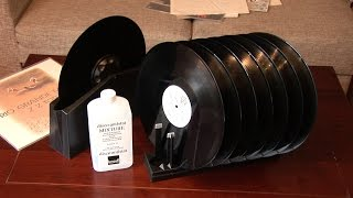 Vinyl record washer test, Knosti record-cleaning-kit