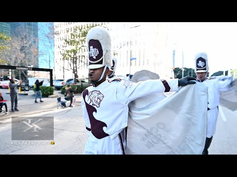 Texas Southern University Marching In The 2020 Houston MLK Parade |4K|