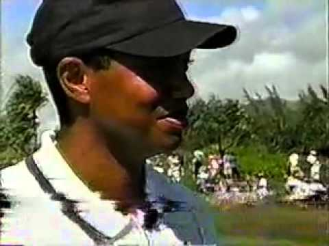 1999 PGA Grand Slam of Golf - Tiger Woods interview