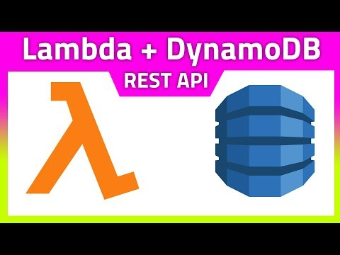 AWS Lambda & DynamoDB Rest API tutorial (full CRUD) - YouTube