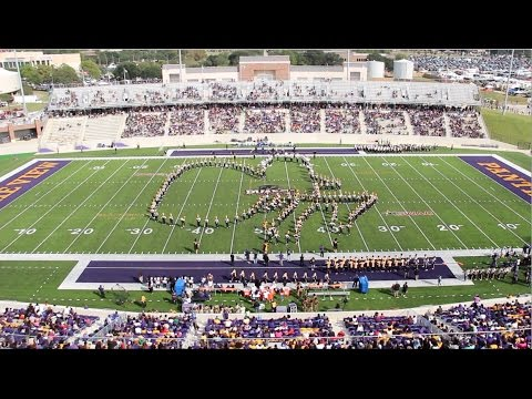 Halftime Show - Alabama State University Marching Band (2016)