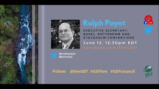 Rolph Payet on #GEFlive 56th GEF Council