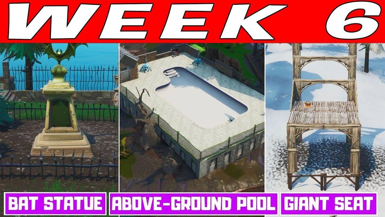 Fortnite Season 10 Week 6 Challenges Magyar útmutató Boogie Down Mission