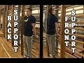 Swedish Bars - Front & Back Support