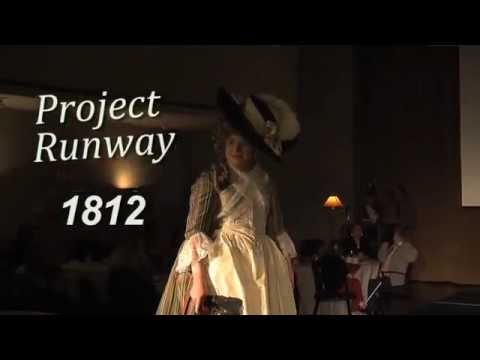 1812 Fashion Show at Maryland Historical Society