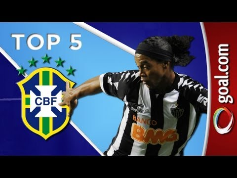 Top 5 - Best Brazilian goals, Ronaldinho