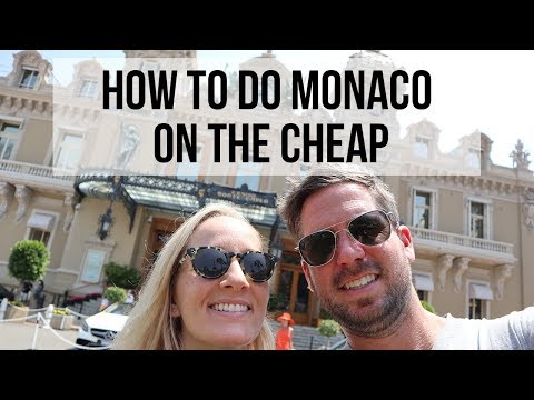 HOW TO DO MONACO ON THE CHEAP! // Monaco Travel Vlog