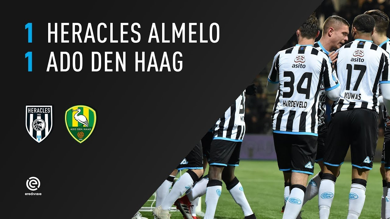 Heracles Almelo - ADO Den Haag 1-1 | 03-02-2018 | Samenvatting