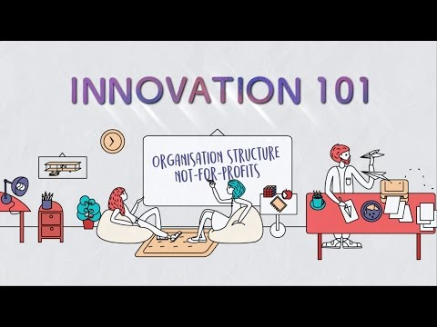 Innovation 101 Ep 8: Organisation Structure  -  Not For Profit