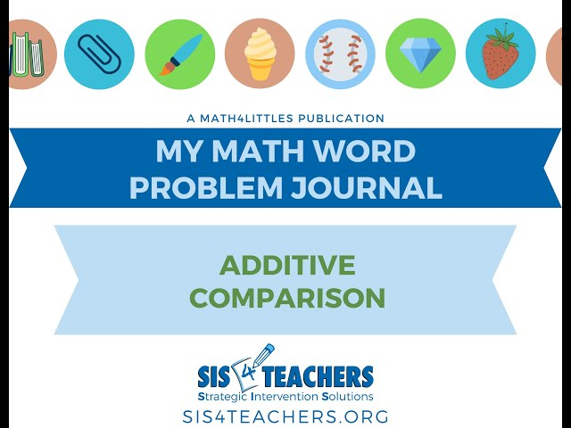 1st Grade Problem Solving: Additive Comparison