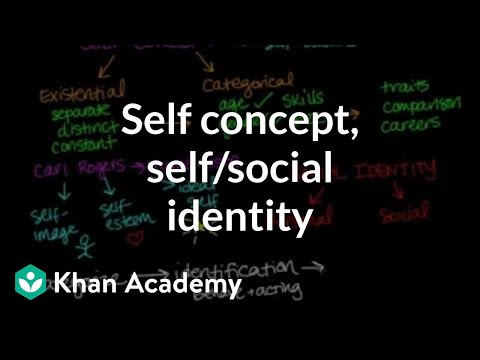 Self Concept, Self Identity, And Social Identity | Individuals And Society | MCAT | Khan Academy