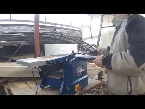 Deteiled Review Of Surface And Thickness Machine Scheppach Ht1050
