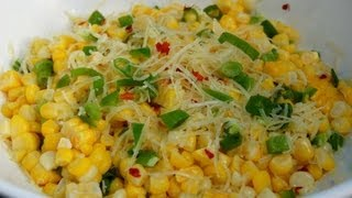 {side Dish Recipe} Roasted Corn With Lime And Parmesan By Cookingforbimbos.com
