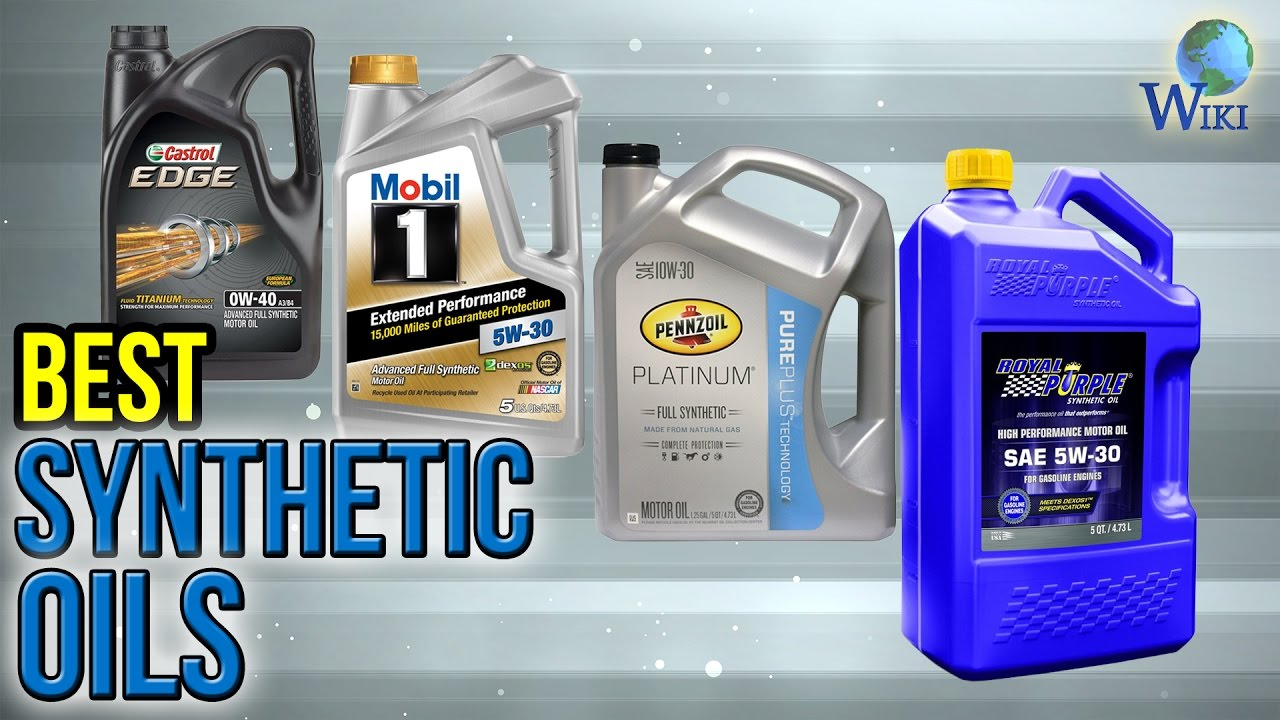 Best Synthetic Motor Oil >> 6 Best Synthetic Oils 2017