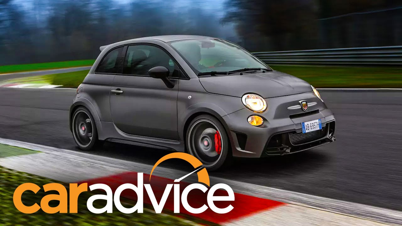 Luxury 2015 Abarth 695 Biposto Review  A CarAdvice Track Test