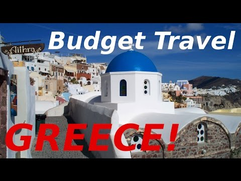 How to Travel Greece SUPER CHEAP!! Budget Travel Tips