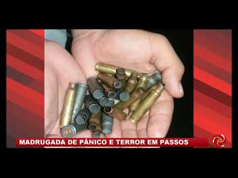 Madrugada de pânico: bandidos explodem bancos em Passos