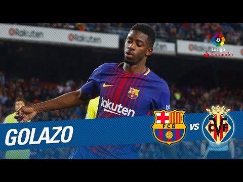 Golazo de Dembélé (5-1) FC Barcelona vs Villarreal CF