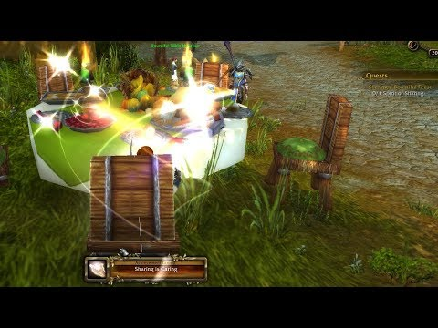 World Of Warcraft Quest Info: Sharing a Bountiful Feast + Sharing is caring