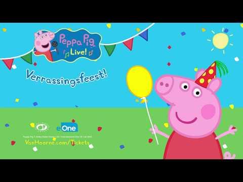 Peppa Pig Live! In Het Theater