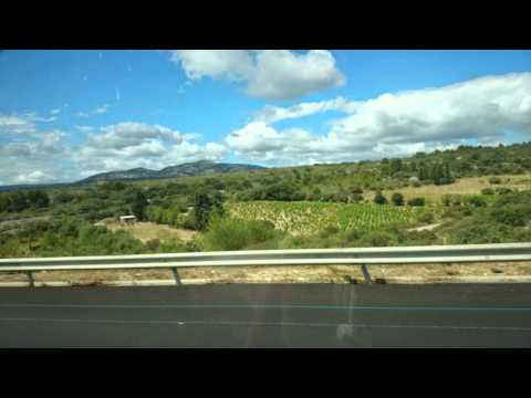 Driving From Marseille to Barcelona, June 2014