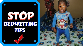 HOW TO | HELP STOP KID WETTING THE BED || Stop Bedwetting Hacks
