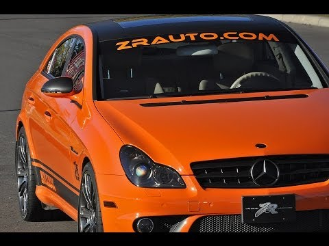 Video Review: 640hp Mercedes CLS 55 AMG by ZR Auto