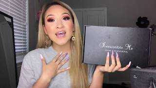 irresistible Me (Clip-In Hair Extensions) Review  How to Curl/Style