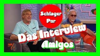 Interview mit dem Schlager-Duo: Die Amigos (2021)