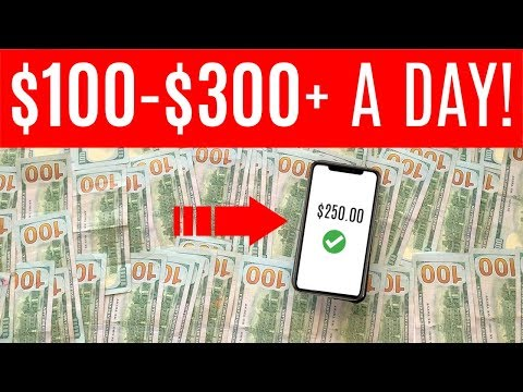 Make Money Online Today! $100 to $300 Per Day! EASY HACK! (Easy & Simple) **HURRY!**
