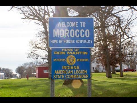 Morocco La Pee Ville Américaine موروكو البلدة الأمريكية