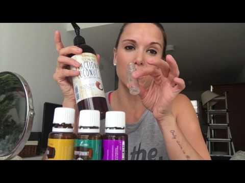 Making Roller Bottles for Essential Oils