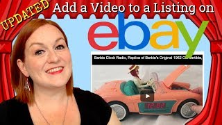 Updated 2017 How to Add a Video to an Ebay Listing - Embed a Youtube Video w/out Active Content