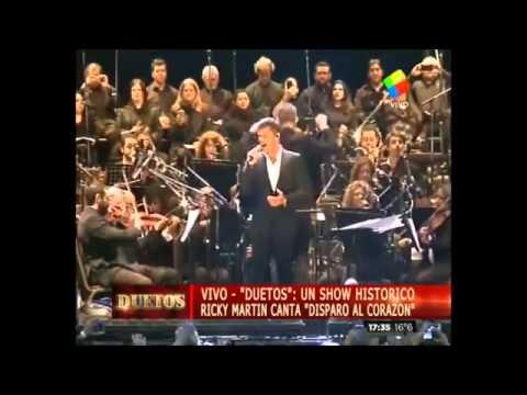Duetos Ricky Martin -  Disparo al Corazon Argentina