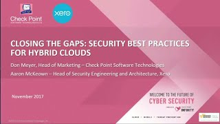 AWS re:Invent 2017: Closing the Gaps: Security Best Practices for Hybrid Clouds (DEM49)