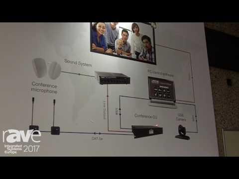 ISE 2017: BXB Electronics Exhibits Qcon Voice Conferencing Solution