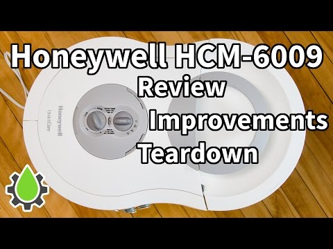 Honeywell HCM-6009 humidifier review, teardown and improvements