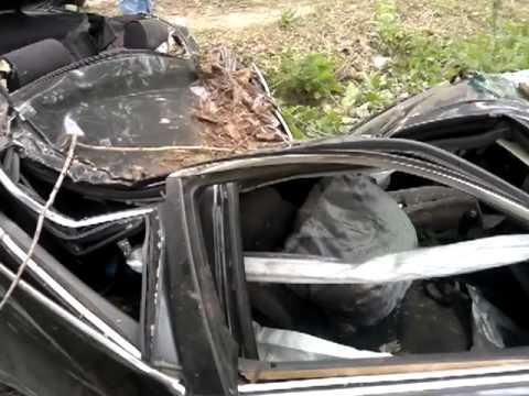 Липецк.Авария в п.Казинке.08.06.2012  (2 часть)