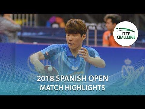 2018 Spanish Open Highlights I Kim Minhyeok vs Gabriel Perez (Qual)
