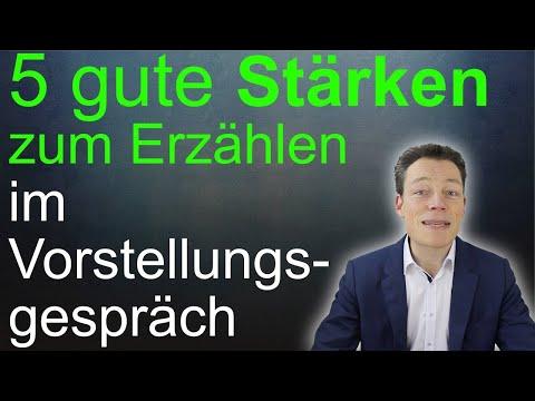 Vorstellungsgespräch Stärken: Die 5 klügsten Stärken (Stärken und Schwächen) // M. Wehrle