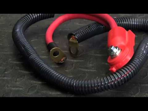Battery Cable Gm Oe Battery Cables Acdelco Youtube